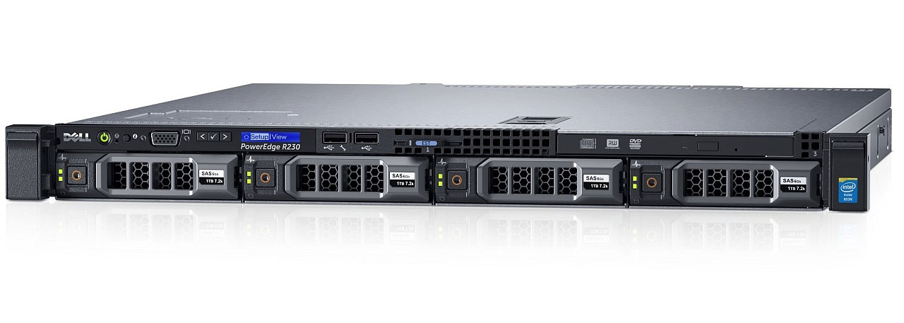 Dell R230 Сервер Dell PowerEdge R230