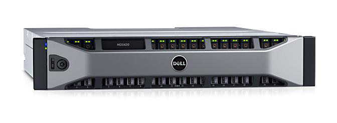 Dell PowerVault MD1400 Storage схд DAS SAS система хранения данных / дисковый накопитель информации